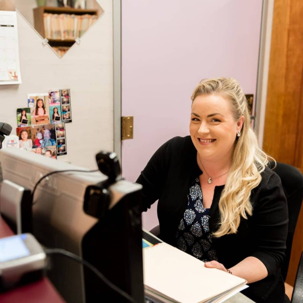 the smile doctor front desk assistant