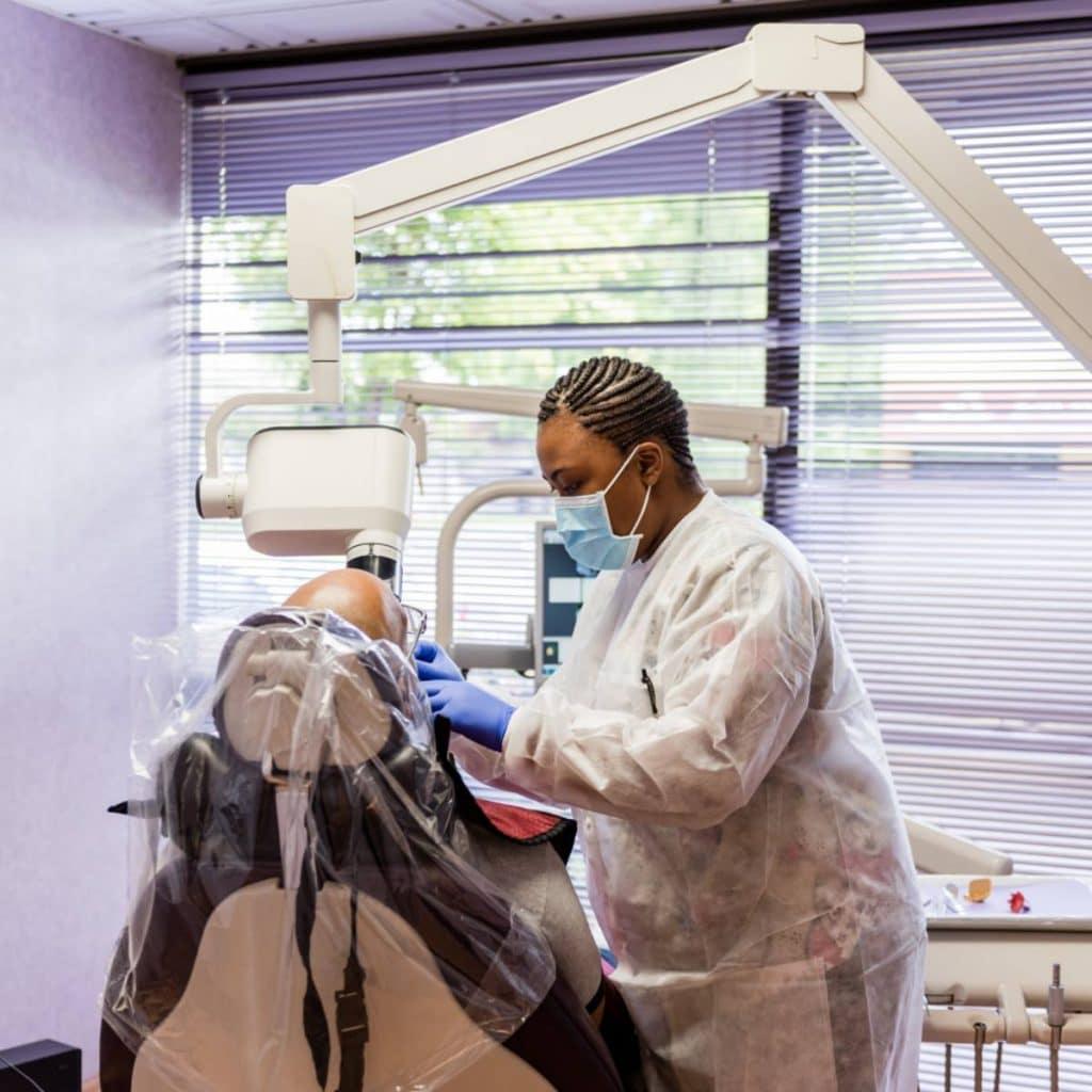 the smile doctor preventative services dental assistant